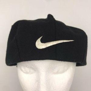 Vintage 90's Nike Flat Cabbie Newsboy Golf Cap Hat